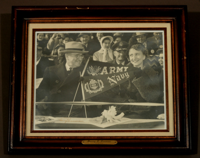 Harry Truman, photograph signed